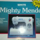 BRAND NEW White Mighty Mender W100 Portable Sewing Machine in Box W/ ACCESSORIES
