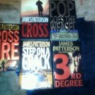 JAMES PATTERSON LOT OF 5 HARDCOVER BOOKS  ALL NEW NEVER READ