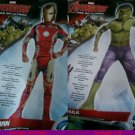 Marvel Avengers Iron Man or THE HULK  AGE OF ULTRON  New  med 8-10  2/4 toddler