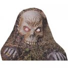 Skull On Jaws lawn art  mask check it out  Skull on Jaws with Two Hands Prop