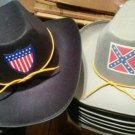 Permalux Union Officer NAVY  HAT OR : GRAY CIVIL WAR Confederate Officer HAT NeW