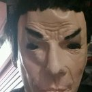 Vintage Rubies (Don Post Studio) Star Trek deluxe Mask mr Spock with hair 1996