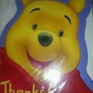 WINNIE THE POOH THANK YOU NOTES WITH ENVELOPES 8pc