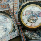 NASCAR 50TH ANNIVERSARY WALL CLOCK OFFICIALLY LICENSED by SUNTIME for NASCAR