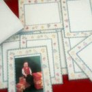 8PC BABY Photo FRAME Greeting Cards Picture great 4 baby shower invite/ thank U