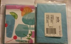 3PK Hallmark Cheers Cocktail Party INVITATION Cards-FOR MANY OCCASIONS 10X3=30PC