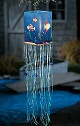 fish wind sock Add a glow,with this decorative lighted windsock new