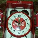 M.Z.BERGER CO.Coke Cola Brand Jumbo Twin Bell Alarm QUARTZ CLOCK LRG 1996+MUGS