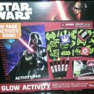 2 New Disney Darth Vader Star Wars Glow In The Dark Sticker Kids Activity  Set