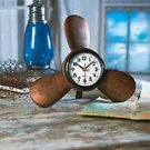 PROPELLER CLOCK WHY LOOSE TIME ON THE SEA THIS GREAT PROPELLAR CLOCK