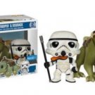 Funko Pop! Star Wars Sandtrooper and Dewback 2 Pack  NEW