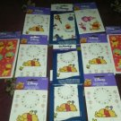 Winnie the Pooh  NEW! 11packages BY HALLMARK Disney Temporary Body Stickers
