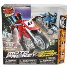 New Moto Frenzy MOTORCYCLE W/POSEABLE RIDER Air Hogs R/C Moto Frenzy Motor