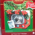 "An ""I Love Lucy"" Christmas Ornament ""Vitameataveamin Girl"" Lights & Sound, new"