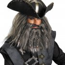 black beard wig kit Pirates Of The Caribbean - Black Beard Facial Hair Accessor