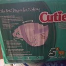 Cuties Premium Diapers Size 5 27pc Each package 4 packs per case new