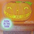 Hallmark Glow in the Dark  Halloween Movable Decorations pumpkin 37in wide