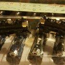TRAIN Die-Cast Metal Keychain Key Ring WITH LAZER LIGHT GREAT  NEW