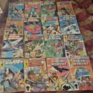 Lot of 16 TOTAL  GI Joe Special Missions@G.I.JOE Marvel Comic Books