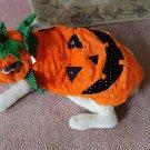 Pet Sequin Pumpkin Light Up Eyes Costume Sz XL  NEW by PET LOV LIGHTS UP 2 CUTE