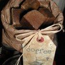 Prim Vanilla Coffee Soap Chunks