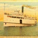 "Steamer ""Islander"", New Bedford, Martha's Vineyard, and Nantucket Steamboat Co."