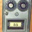 Post Office Box door Dual Dial