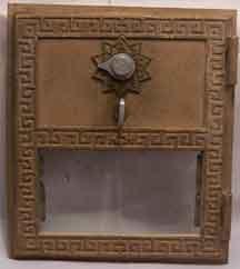 Post Office Box door Grecian style combination lock (medium)