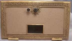 Post Office Box door Grecian style combination lock (Large)