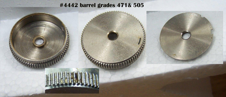 #4442 barrel,grades 471 & 505