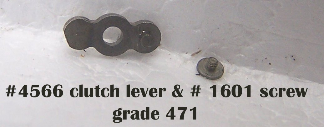 #4566 clutch lever  & screw
