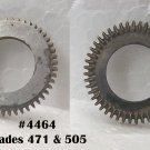 #4464 main wheel & hub for grades 471 & 505