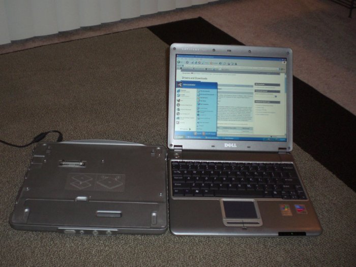 Dell Latitude x300 , Pentium M 1.4 GHz, Over 1 GB RAM, Under 3 pounds