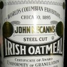 John McCann's Steel Cut Irish Oatmeal in a Collectors Tin