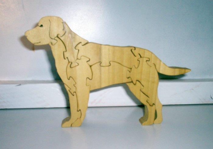 Wood Dog Puzzle