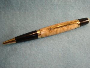Custom Hand Made Wooden Sierra Pen