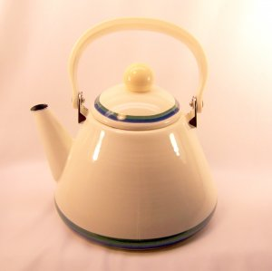 Enameled Tea Kettle