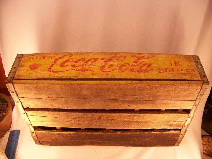 Vintage Coke Crate 1966