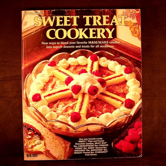 Mars Candy Sweet Treat Cookery Vintage Cookbook