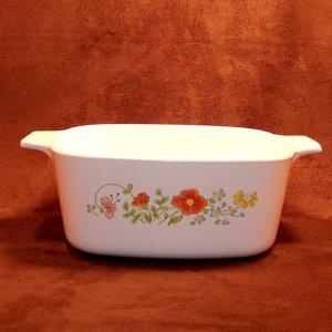 Vintage Corning Ware Wildflower 1.5 liter Casserole Saucepan