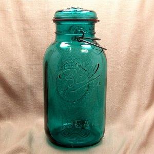 2 qt Ball Ideal Bicentennial Canning/Fruit Jar
