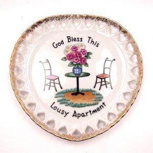 Vintage Novelty Plate