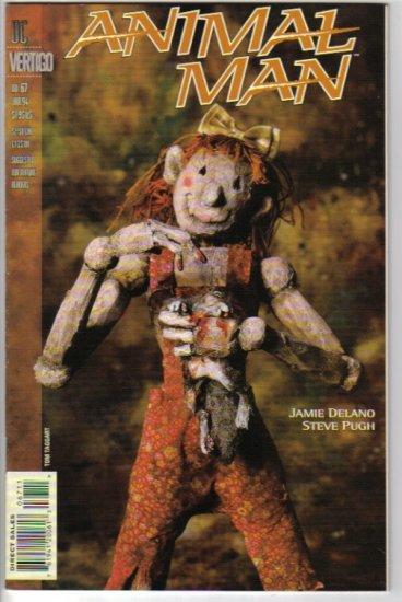 Animal Man 67 - Jamie Delano, Steve Pugh - Mysterious Ways - DC / Vertigo - January 1994