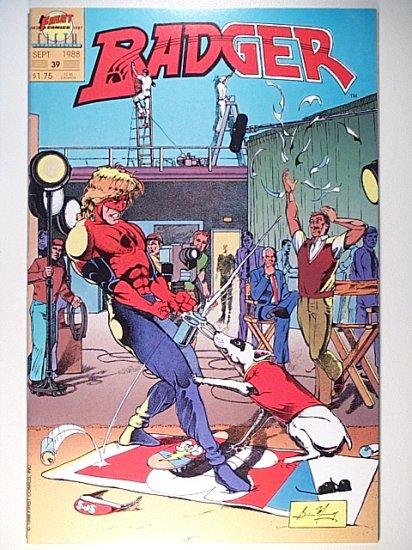 Badger 39 - First Comics - September 1988