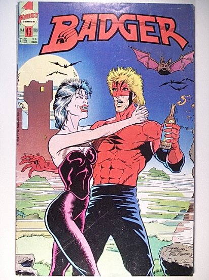 Badger 43 - First Comics - January 1989