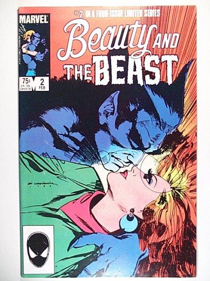Beauty and the Beast 2 - Heartbreak Hotel - Marvel Comics - February 1985