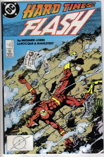 Flash 17 DC Comics October 1988 Hard Times George Perez