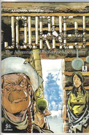 Journey 8 Adventures of Wolverine MacAlistaire Aardvark - Vanaheim March 1984