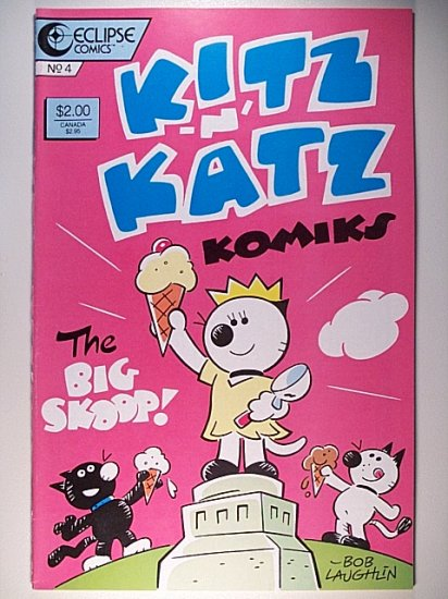 Kitz 'n' Katz Komics 4 Eclipse Comics October 1986