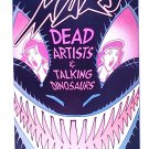 Mars 4 First Comics April 1984 Dead Artists & Talking Dinosaurs